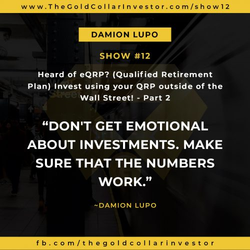 Episode 12 – Why an eQRP is the Best Option for Investing Your Retirement Money